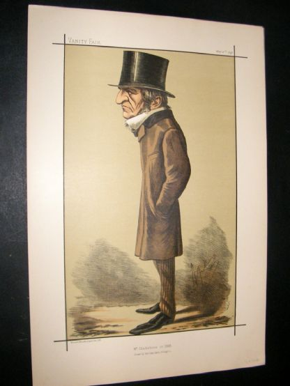 Vanity Fair Print 1898 William Gladstone, Prime Minister | Albion Prints